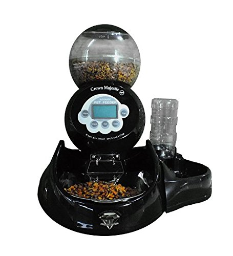 Crown-Majestic-Diamond-Series-V3-Dog-Automatic-Pet-Feeder 10 Best Automatic Pet Feeders