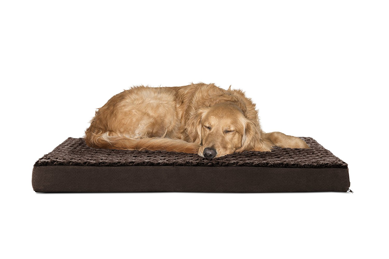 10.-FurHaven-Deluxe-Orthopedic-Pet-Bed-Mattress-for-Dogs-and-Cats-Available-in-Over-25-Colors 10 Best Beds for Large Dogs