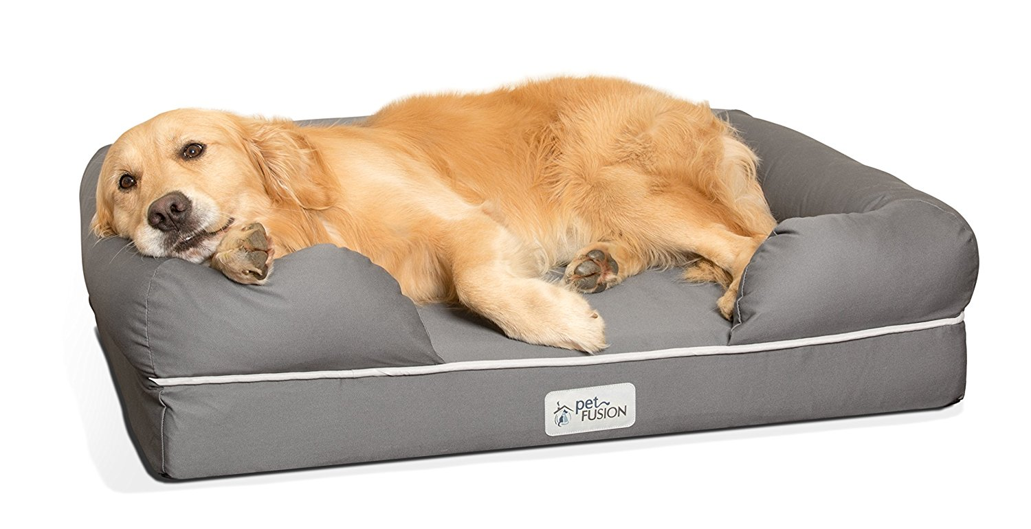 2.-PetFusion-Ultimate-Pet-Bed-and-Lounge 10 Best Beds for Large Dogs