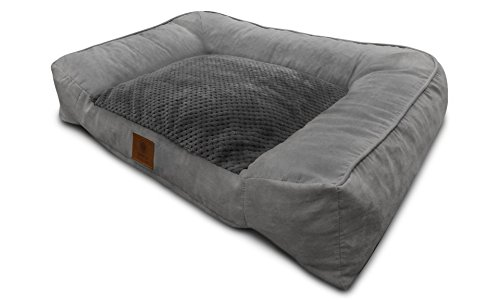9.-American-Kennel-Club-Memory-Foam-Sofa-Pet-Bed-1 10 Best Beds for Large Dogs