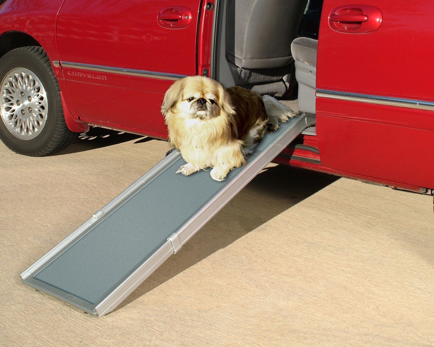 PetSafe-Solvit-Deluxe-Telescoping-Pet-Ramp-Standard-39-in.-72-in.-Portable-Lightweight-Aluminum-Dog 10 Best Pet Ramps